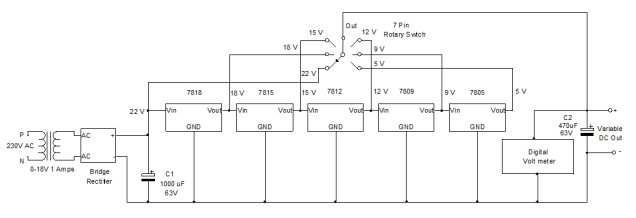 Home Made Power Supply Circuit