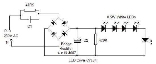 LED-Bulb-Circuit