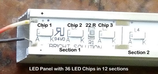 LED-Section
