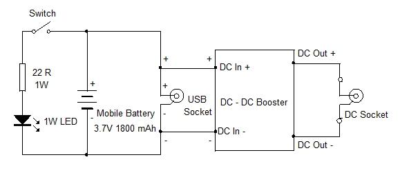DC - DC Booster Circuit