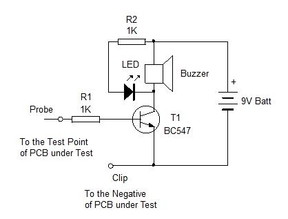 PCB TESTER CIRCUIT