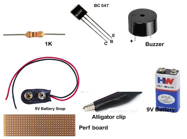 PCB-TESTER-COMPONENTS