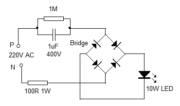 CAPACITOR POWER SUPPLY