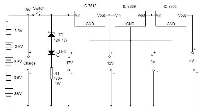 Laptop Battery Power Supply