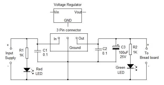 Regulator Power supply Socket