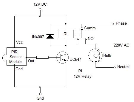Arduino Relay Module Circuit Diagram likewise Pir Schematic furthermore Pir Motion Detector Sensor furthermore Schematic also Pir Sensor Ac Light Circuit. on arduino pir motion sensor circuit diagram