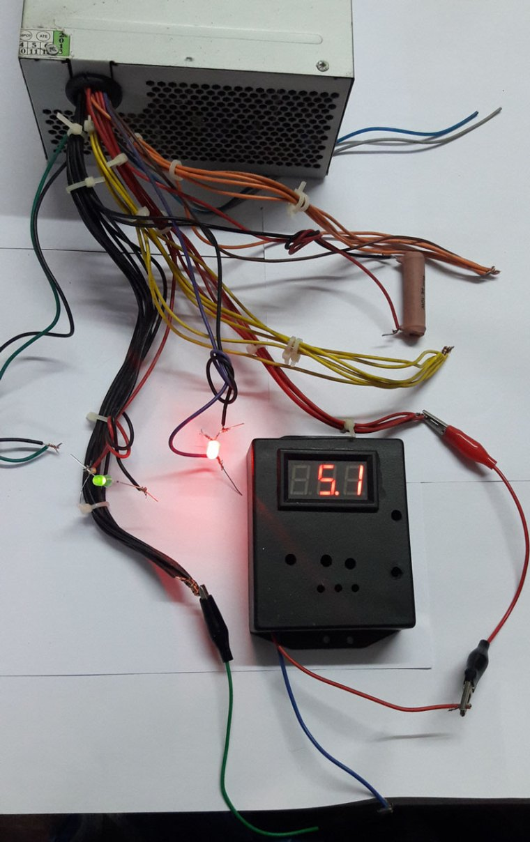 How To Convert Smps Power Supply Bench Mohans Light Operated Relay Circuit D Mohankumar Ldr Advertisements
