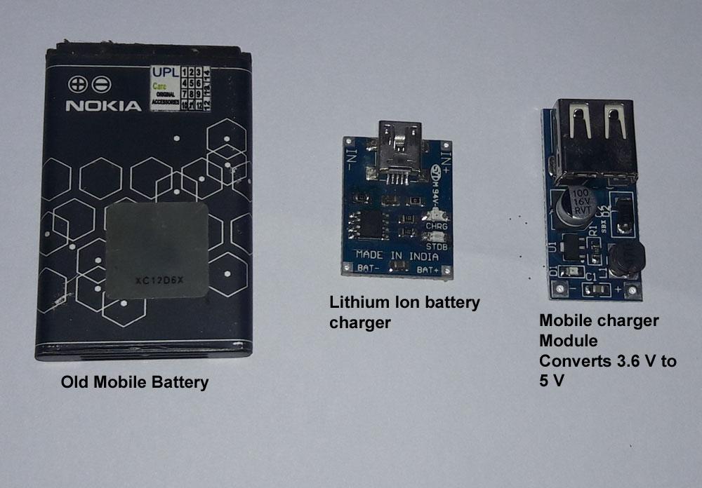 How to make a Mini Power Bank | Mohan\'s electronics blog