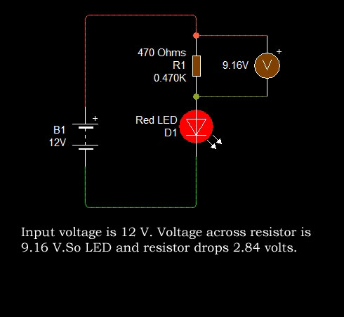 how to select resistor for 1 watt led \u2013 mohan\u0027s electronics blog