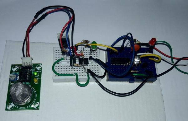Regulator 5 Volt Using Ic 7805 Circuit